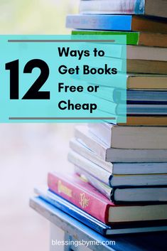 Saving money but can't stand to part with books and reading? Find out how I get … Saving money but can't stand to part with books and reading? Find out how I get books free or cheap! Got Books, Used Books, Books To Read, Sci Fi Books, Audio Books, Different Types Of Books, Cheap Books, Book Reader, Knowing God