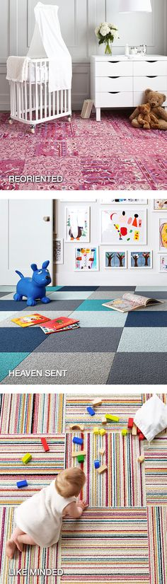 Design a creative area rug for playtime and playdates—FLOR carpet tiles make it easy.