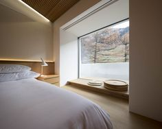 Tadao Ando also left his mark on the 7132_Hotel Therme of Vals, Switzerland  (www.7132.com). Full documentation can be seen here.