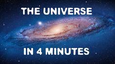 Youtube Nutzer exurba1 erklärt uns das ganze Universum, inklusive jeder Menge sinnvollem Unsinn, in knapp 4 Minuten