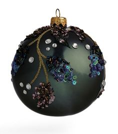Black Christmas Tree Decorations, Christmas Tree Toy, Beaded Christmas Ornaments, Christmas Crafts, Whimsical Christmas, Beaded Ornament Covers, Homemade Christmas Gifts, Crocheting, Holidays