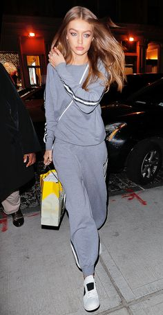 Gigi Hadid Just Wore a Groutfit (And We Love It) via @WhoWhatWear