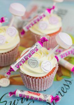 Objetivo: Cupcake Perfecto.: Cupcakes de golosinas ¡¡y mis firmas en Sant Jordi!!