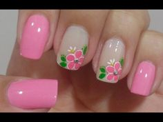 Unhas Decoradas Irmãs Gêmeas Manual Bela e Simples Nail Art - YouTube