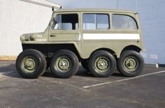 "1953 Willys 8x8 ""Centipede"" Military Truck Prototype Built by legendary custom car fabricator Dick Cook in the 1970s, this truck was fabricated from three Willys trucks as a..."