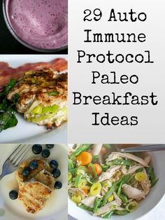 29 AIP (Auto Immune Protocol) Paleo Breakfast Ideas AIP breakfast ideas – egg-free, dairy-free, grain-free, gluten-free A few reasonable ideas for beginning Autoimmun Paleo, Paleo Menu, Dieta Paleo, Paleo Blog, Diet Menu, Paleo Dinner, How To Eat Paleo, Whole Food Recipes, Diet Recipes