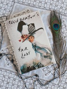 Cecil Beaton's 'Fair Lady' vintage 1960s book with by freshdarling