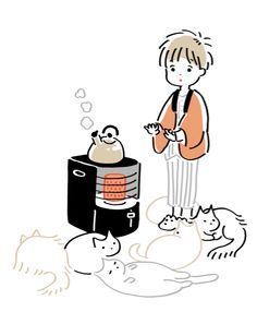 Cats » art » drawing » inspiration » illustration » artsy » sketch » pinterest »