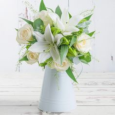 Fragrant Lily & Rose Valentines Flowers, Valentines Day, Flowers Delivered, Red Roses, Bouquet, Lily, The Incredibles, Vase, Table Decorations