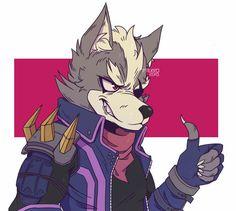 Wolf by pterro on DeviantArt Nintendo Characters, Cartoon Characters, Nagano, Character Drawing, Character Design, Wolf Character, Fox Mccloud, Fox Games, Furry Comic