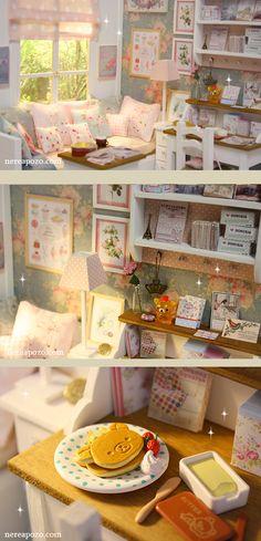 Nerea Pozo Art: ♥ Handmade miniature diorama AQUA MORNING ♥