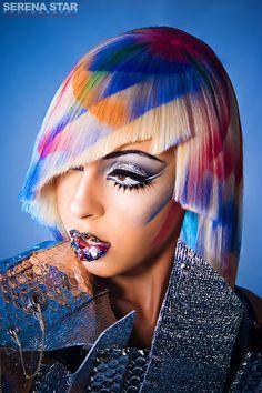 model: raquel reed, makeup: Darya, Hair: Sina Washington, Designer: Jeantrix, Photo: Serena Star