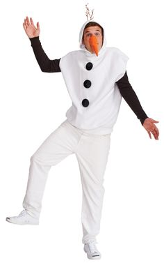 If you're looking for a Olaf, Savers is the place to go for all your Halloween Costume needs.