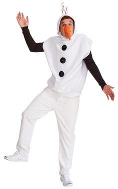 DIY Olaf Frozen Halloween Costume