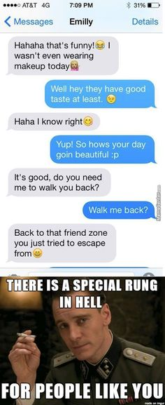 Hilarious Text About Girl vs.Friendzone - Funny Text - - Hilarious Text About Girl vs.Friendzone The post Hilarious Text About Girl vs.Friendzone appeared first on Gag Dad. Funny Texts Jokes, Text Jokes, Funny Text Fails, Cute Texts, Stupid Funny Memes, Haha Funny, Funny Stuff, Funny Girl Memes, Humor Texts
