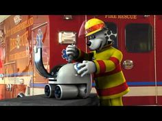 Fire Safety - Sparky and the Runaway Robot video For more pins like this visit:  http://pinterest.com/kindkids/social-studies-charlotte-s-clips/