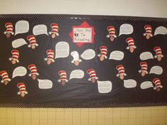 Dr. Seuss Classroom Boards | Seuss Hat Bulletin Board - a photo on Flickriver