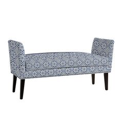 Reynolds Bench with Pewter Nailheads