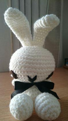 Amigurumi crochet Playboy Bunny