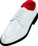 SXL White Seven Unlimited Tuxedo Shoes