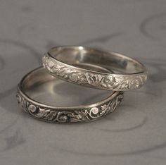 Hey, I found this really awesome Etsy listing at http://www.etsy.com/listing/59646427/going-barouque-wedding-band-sterling