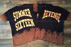 Drake Revenge Summer Sixteen Tie Dye by VintageTourBoutique