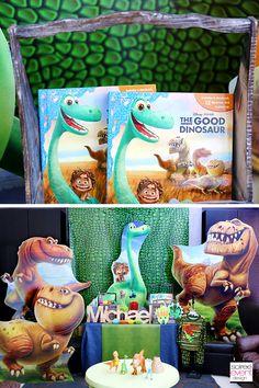 | Disney's The Good Dinosaur Party Ideas | http://soiree-eventdesign.com