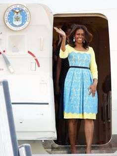 Lover her style! Michelle Obama's Best Looks Ever - 2015 - Preen by Thornton Bregazzi from #InStyle