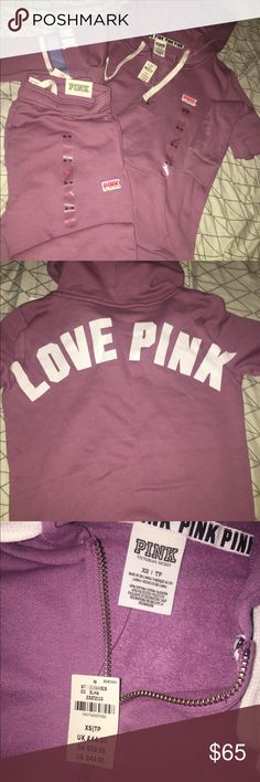 Victoria's Secret PINK Sweat Suit Brand new, tags and stickers till attached. PINK Other