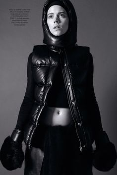 The Industrie Magazine No. 7 Alexander Wang Photoshoot is Athletic #athletic trendhunter.com