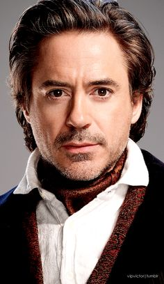 Sherlock Holmes! From the movie Sherlock Holmes  and Sherlock Holmes: A Game of Shadows (Robert Downey Jr.)