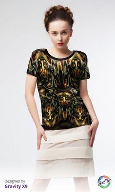 OArt-TEE Is The New Little Black Dress