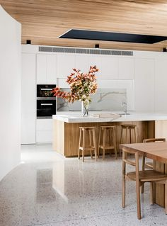 Like the material color. Also like the long linear vent for range hood and mini-split