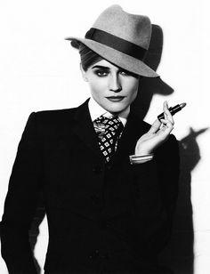 amandasmemoranda:    Diane Kruger by Karl Lagerfeld    This lady….