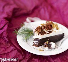 Joulukakku x 5 – kurkkaa reseptit!    -      Suklaatryffelikakku, appelsiini-jogurttikakku, omenakeikauskakku, suklaakakku kahvikuorrutteella ja glögijuustokakku