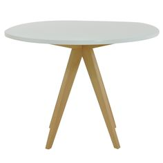 Atlantico Circle Clear Glass Cafe Dining Table