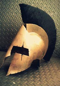 Picture of 300 Spartan Helmet Book Day Costumes, Last Minute Costumes, Helm Tattoo, Halloween Fun, Halloween Costumes, Warrior Costume, Spartan Costume, Spartan Tattoo, Greek Helmet