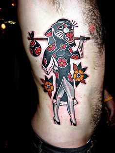 Tattoo by Mark Cross by eastrivertattoo, via Flickr