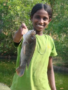 What's better than 1 fish? 2 fish! Have your donation to our Vocational Fish Farm project matched tomorrow!