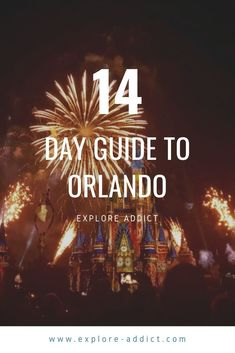14 day guide for anyone visiting Orlando for the first time, where you can get the most use out of your park tickets and see all the big theme parks in one holiday without becoming exhausted Florida Travel, Us Travel, Visit Orlando, Exhausted, Walt Disney World, Places To See, Need To Know, First Time, Parks