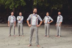 50 Groomsmen in suspender ideas - JJ Suspenders