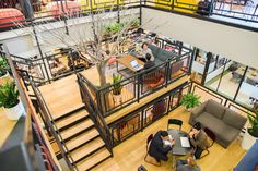 WeWork's beautiful office in New York City