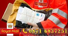 Contact Royal Mail if you have any query about your parcel
