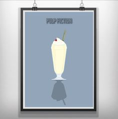 #pilpfixtion pulp fiction minimalist movie poster