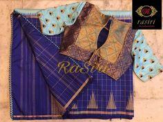 Saree Kuchu Designs, Best Blouse Designs, Pattu Saree Blouse Designs, Simple Blouse Designs, Stylish Blouse Design, Blouse Neck Designs, Blouse Styles, Designer Blouse Patterns, Design Patterns