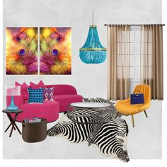 """""""Some color on a grey day:)"""" by anidarjan on Polyvore"""