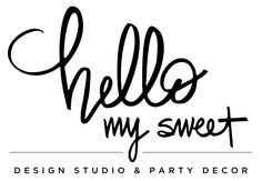 Browse the Hello My Sweet party gallery for ideas and inspiration.