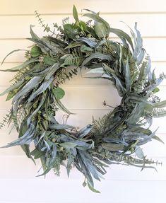 Diy Fall Wreath, Autumn Wreaths, Christmas Wreaths, Christmas Decorations, Holiday Decor, Wreath Forms, Dried Flowers, Artificial Flowers, Grapevine Wreath