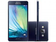 "Smartphone Samsung Galaxy A5 Duos 16GB Dual Chip - 4G Câm. 13MP + Selfie 5MP Tela 5"" Proc. Quad Core"