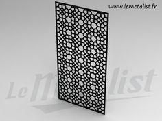 claustras l gant avec motifs brise vue castorama. Black Bedroom Furniture Sets. Home Design Ideas